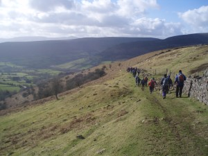 Waun Fach, by Huw Dullea, Treads & Trails