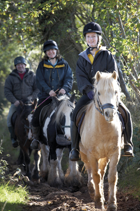 ©BBNPA Brecon Horse riding