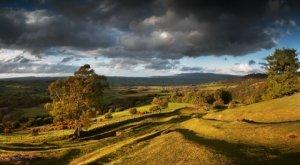 Llanfrynach Landscape Panorama © Nigel Forster