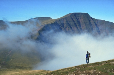 The highest mountain in Southern Britain, Pen-y-Fan