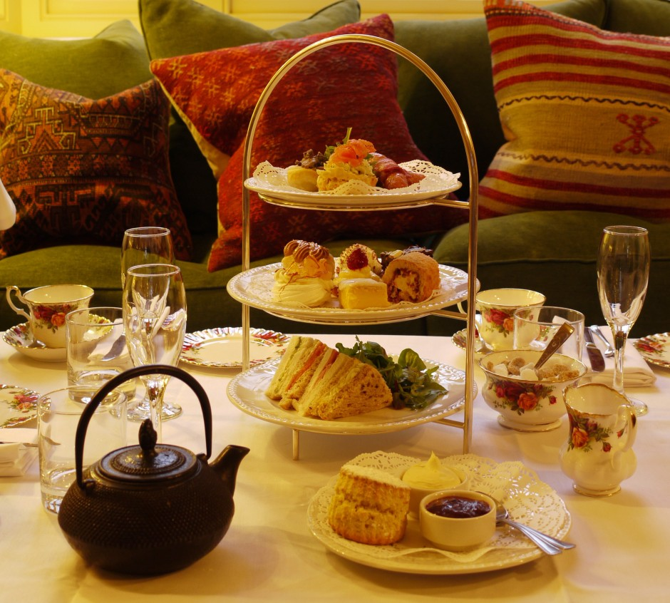 Enjoy the Angel Hotel, Abergavenny - High Tea