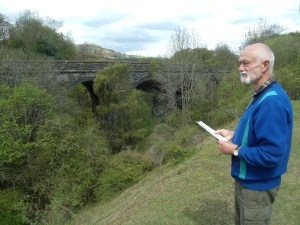 Peter at Clydach Viaduct