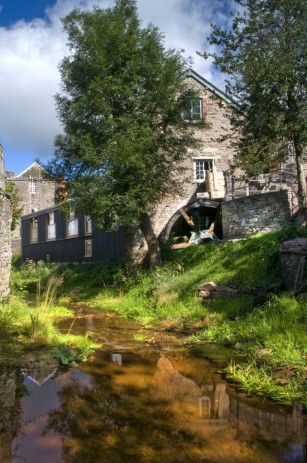 Talgarth Mill the perfect festival hub, good food and a nice setting