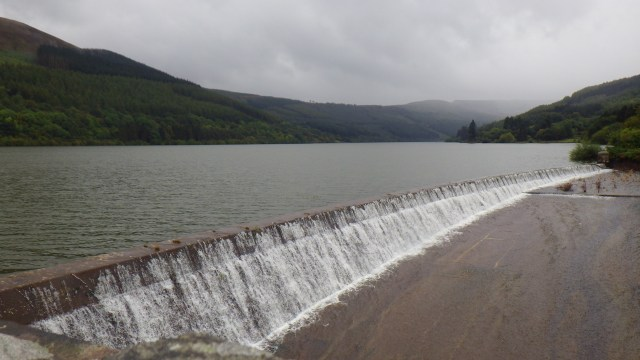 October, Talybont reservoir by Anne Griffiths©