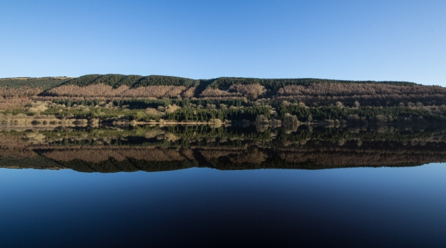 Reflections on Pentwyn Reservoir. By Anthony Pease ©