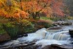 Waterfall leading to Neuadd Reservoir by Mari Owen - Photographer ©