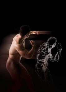 Michelangelo Drawing Blood ©