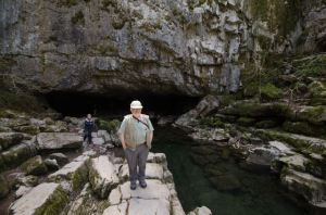 Porth yr Ogof - the largest cave opening in Wales