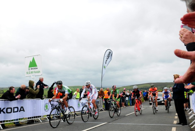 The King of the Mountain phase of last years stage. By Tour of Britain ©