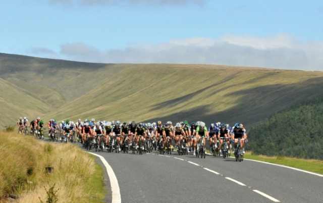 The Tour of Britain in 2012 ©