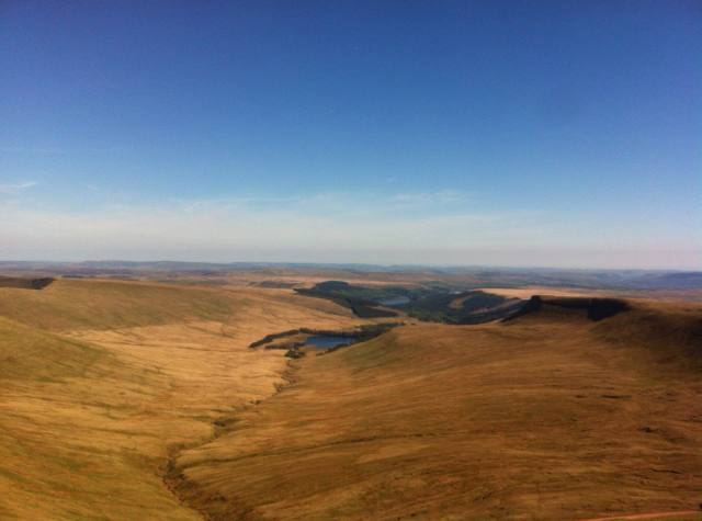 June: View From the Top of Pen Y Fan By John Owens ©