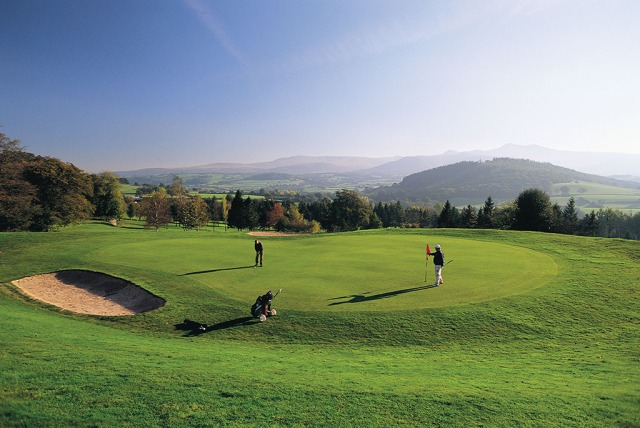 Cradoc Golf Club © Crown copyright (2014) Visit Wales