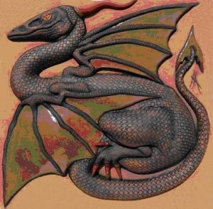 Dragon by Anna Lawday